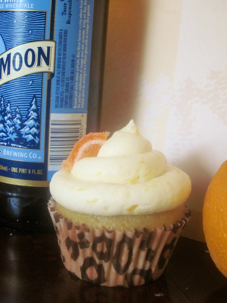 Blue Moon and Orange Alcoholic Cupcakes by Watsed Desserts