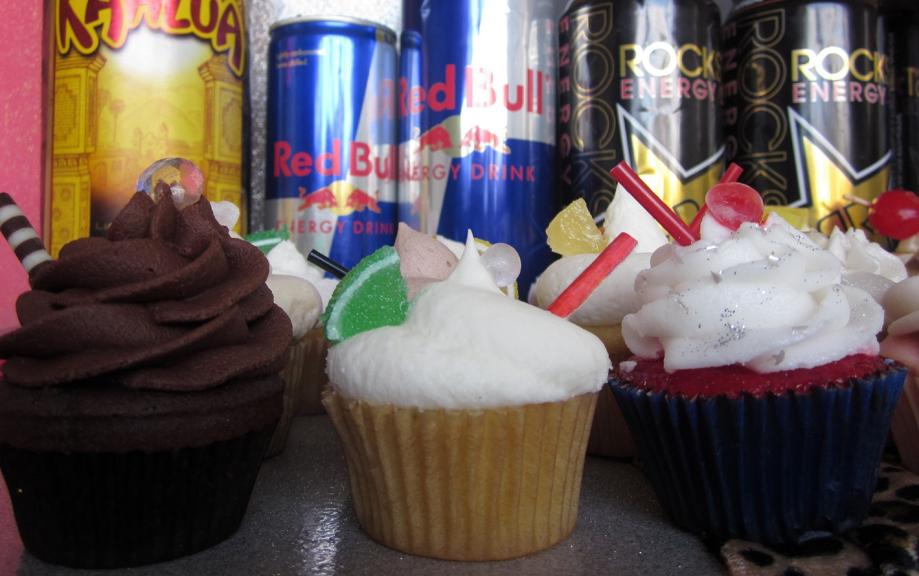 Alcoholic Wasted Cupcakes