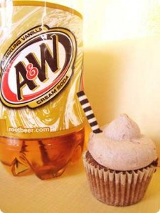 Wasted Desserts Cream Soda Cupcakes