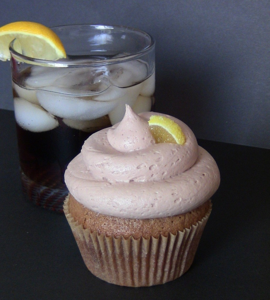 Jack and Coke Alcoholic Cupcakes by Wasted Desserts