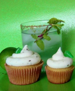 Mojito Alcoholic Cupcakes by Wasted Desserts