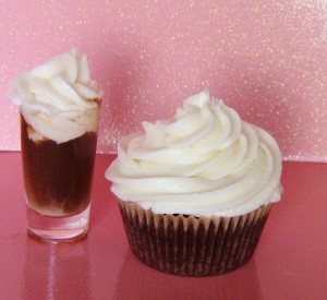Blow Job Alcohol Infused cupcakes for a Bachelorette by Wasted Desserts