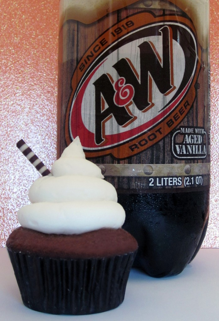 Wasted Desserts Rootbeer Float Cupcakes