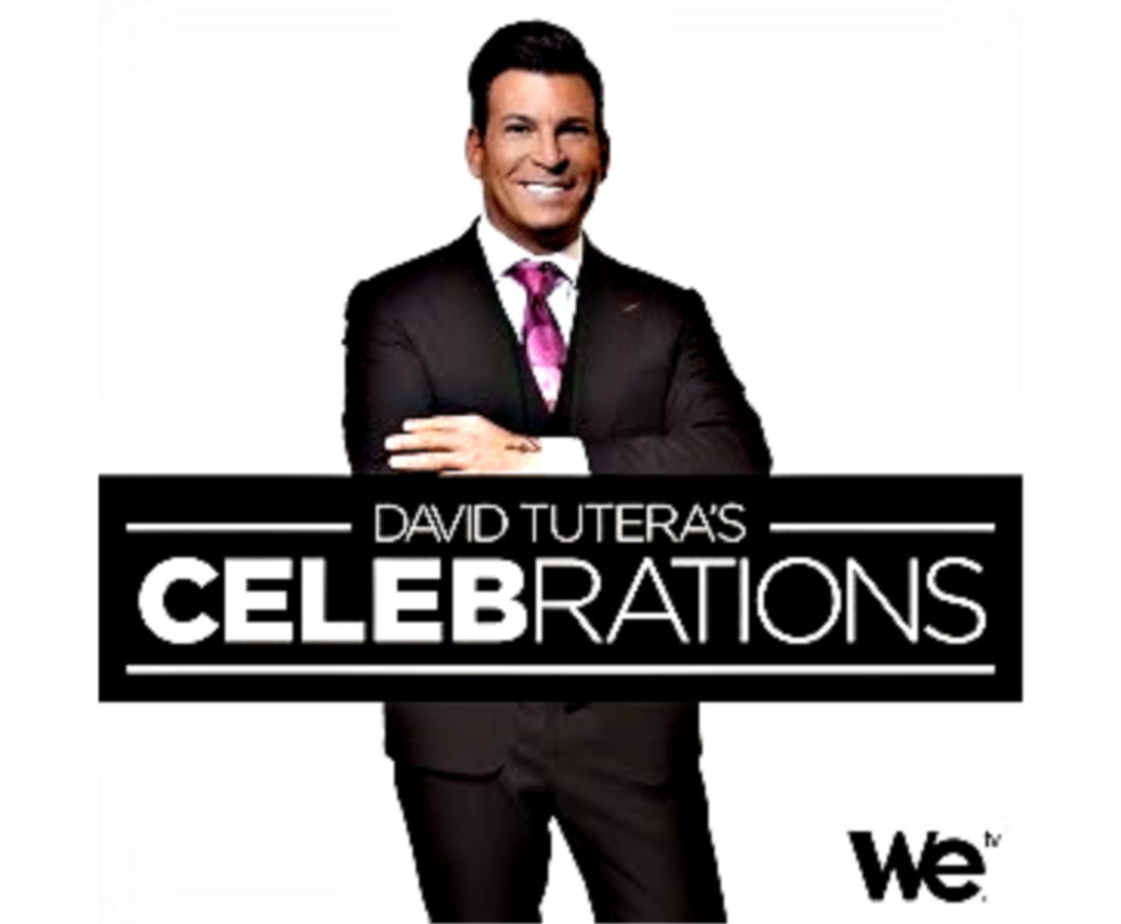 Wasted Desserts featured on David Tuteras Celebrations on WE tv
