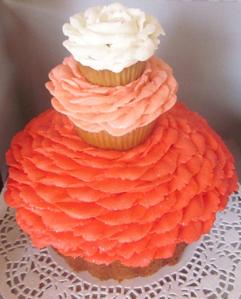 Cupcake Cake, 3 tier