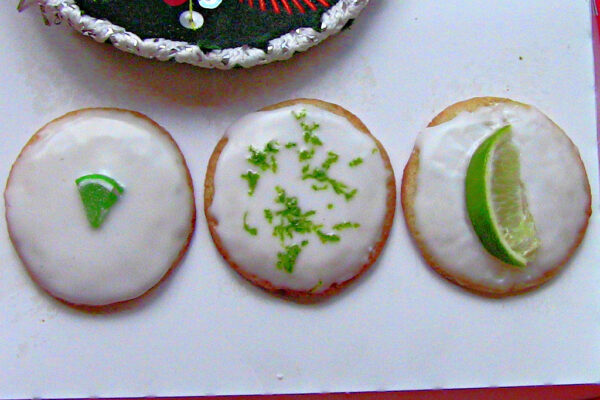 Margarita Sugar Cookies By Wasted Desserts