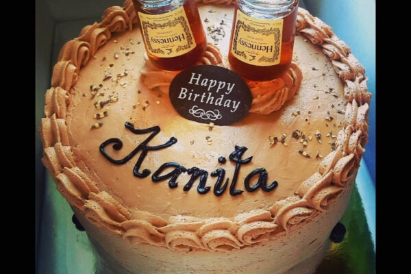 Wasted Desserts Alcoholic Hennessy Cake