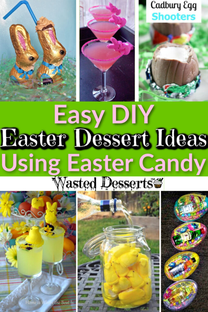 Easy Easter Desserts ideas for adults, for kids, and families using Easter candy. #GreekEaster